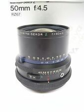Mamiya RZ67 Z 50MM F4.5 Wide Angle Lens for all RZ67 Models with Box in EC