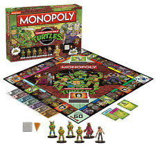 MONOPOLY *RETIRED!* TEENAGE MUTANT NINJA TURTLES COLLECTOR EDITION GAME USAOPOLY
