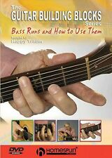 Guitar Building Blocks Bass Runs How To Use Them Learn to Play Music DVD