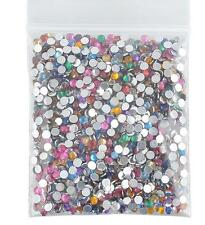 2000pcs DIY Women's Decors 3D Acrylic Nail Art Gems Crystal Rhinestones Beauty F