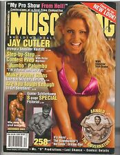 MUSCLEMAG bodybuilding muscle magazine/WWE Diva TRISH STRATUS/Arnold 12-03 #258