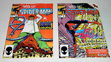 WEB OF SPIDER-MAN #5 AND #6  HIGH GRADE EARLY ISSUES