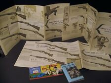 SUPER 1962 Daisy BB Gun Advertising Catalog LOT - Guns Cork Rifle Toy - Paper