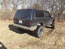 Jeep Cherokee XJ Rear Evolution Expedition Tire Carrier Ready Bumper