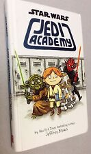 Star Wars Jedi Academy By Jeffrey Brown, Hardcover First Printing Sept, 2013