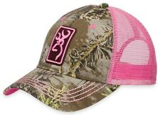 New Browning Women's Conway Cap Hat, Realtree Max-1/Pink 308175231 MRSP $18