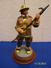Ready for Task Vanmark Firefighter Fireman Red Hats Courage Collectible Figurine