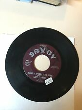 NORTHERN SOUL 45 RPM RECORD- LITTLE DAVID - SAVOY 1617