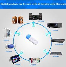 USB Bluetooth Stéréo Audio Récepteur De Musique Adaptateur Pour Voiture AUX