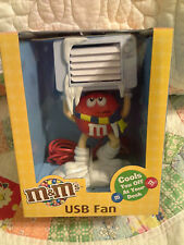 NEW IN PACKAGE! MARS M&M CANDIES USB FAN (PLUGS INTO COMPUTER PORT) COLLECTIBLE