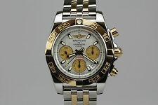 Breitling Windrider Chronomat B01 Chronograph Watch Steel & 18K Rose Gold CB0140