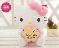 Cute Plush Stuffed Toy HELLO KITTY Cat Doll High Quality Kids Toys Girls Gift