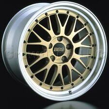 Set of 4 BBS Wheels 20 x 9.5 Gold Center LM Car Wheel Rim 5x114.3 LM238 LM239