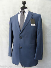Men's Blue Slim Fit Scott By The Label 2 Piece Suit 42S W36 L29 CC1889