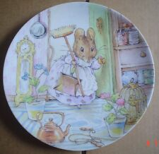 Wedgwood Collectors Plate TWO BAD MICE