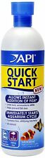 API Quick Start Water Conditioner for Aquariums, 16-Ounce, New, Free Shipping