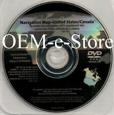 2009 2010 2011 Chevrolet Traverse Buick Enclave Lucerne Navigation DVD Map v7.3