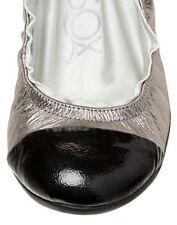 Ballasox Leather Ballet Flats 6 US 36 EU Comfort of Soft Socks by Corso Como NEW
