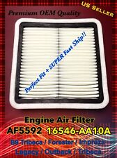 AF5592 CA9997 for Ttibeca, Forester...OEM Quality Engine Air Filter 16546-AA10A