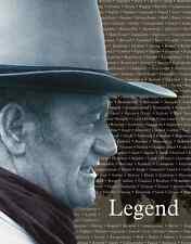 """TIN SIGN- """"John Wayne - Legend"""" Man Cave Military METAL WALL DECOR New"""