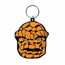 MARVELTHE THING FACE FANTASTIC FOUR RUBBER KEYRING NEW OFFICIAL MERCHANDISE