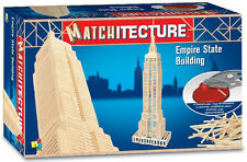 Matchitecture Empire State Building 6647 Wood Matchstick Construction Model Kit