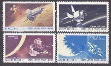 KOREA 1974 mint(*)  SC#1243/46  set,  Soviet Space Flights.
