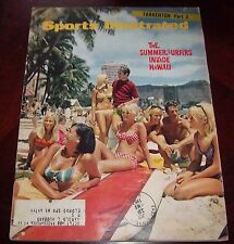 Sports Illustrated  July 24 1967 Summer Surfers invade Hawaii