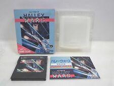 GAME GEAR -- HALLEY WARS -- Boxed. SEGA JAPAN GAME. Work fully! 11643