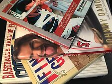 "Baseball MLB Boston Red Sox ""Idiot"" Johnny Damon Hardcover BOOK LOT ~ GET ALL 4"