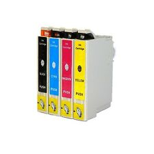 4-Pk/Pack 220 T220XL Ink Cartridge For Epson XP-320 420 424 WF-2630 2650 2660