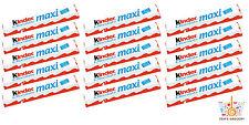 15x Kinder MAXI Chocolate Treats Bars Wholesale Deal Gift Bag Fillers 21g 0.74oz