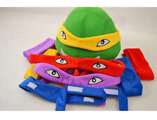 New Color Accessory Head & Replace bands Ninja Turtles Cosplay Mascot Costume