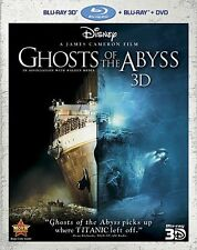 GHOSTS OF THE ABYSS (James Cameron) -   BLU RAY + 3D  - Sealed Region free