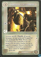 Middle-Earth CCG MECCG TWH The White Hand Saruman's Machinery