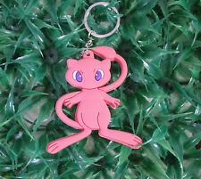 pokemon  Mewtwo silicone keychain rubber key chain gift new first