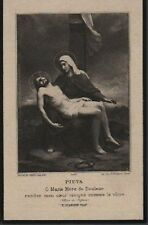 ABRUZZO_CHIETI_SANTINO DEVOZIONALE_PIETA'_LUTTINO_OBLETTER_1936_DA COLLEZIONE