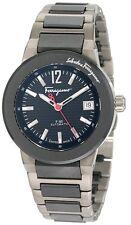 Ferragamo Women's F54MBA78909 S789 F-80 Swiss Automatic Two Tone Date Watch