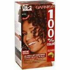 Garnier 100% Hair Color, #UB-2 Mahogany Brown