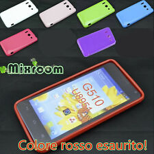 COVER CUSTODIA CASE TPU GEL SILICONE PER HUAWEI ASCEND G510 U8951
