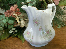 Porcelain  Pitcher Sauce Syrup Water Serving Tableware Antique 1920s EPP Co Dish