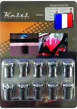 KIT BULLE 10 BOULONS CHROME DEAUVILLE DEAUVILLE 650 F6C