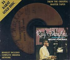 Charles, Ray Ingredients in a Recipe for Soul DCC GOLD CD NEU OVP Sealed