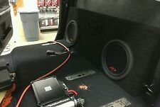 2014 2015 2016 TOYOTA TUNDRA CREWMAX SUB WOOFER BOX ENCLOSURE ONLY.