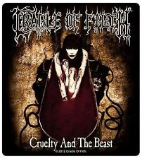 Sticker Cradle of Filth Cruelty And The Beast Album Art Metal Music Band Decal