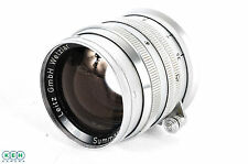 Leica 50mm F/1.5 Summarit Chrome Wetzlar M-Mount Lens