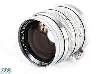 Leica 50mm F/1.5 Summarit Chrome Wetzlar M-Mount Lens