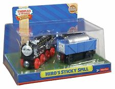 HIRO'S STICKY SPILL Thomas Engine Wooden Railway NEW N BOX Troublesome Train