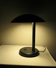 Mid-Century Modern Signed Italian Modernist Style Saucer Dome Desk Lamp