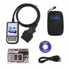 Creator C110 BMW ABS SRS Auto Diagnostic Fault Trouble Code Scanner Reader V3.9
